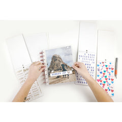 CLEAR COVER SET : CLASSIC HAPPY PLANNER