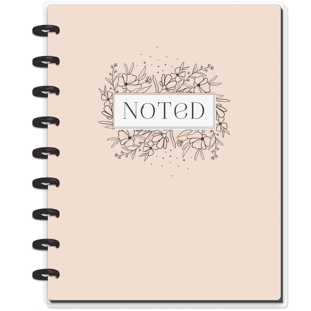 HAPPY NOTES CLASSIC NOTEBOOK : NOTED (DOTTED LINE)