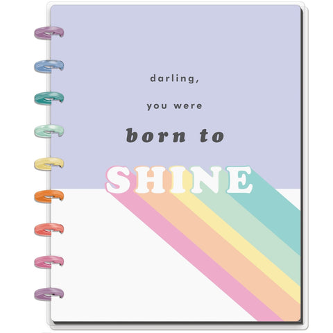 HAPPY NOTES CLASSIC NOTEBOOK : PASTEL RAINBOW (DOTTED LINE)