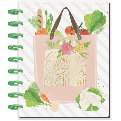 CLASSIC HAPPY PLANNER : RECIPE ORGANISER : FOODIE