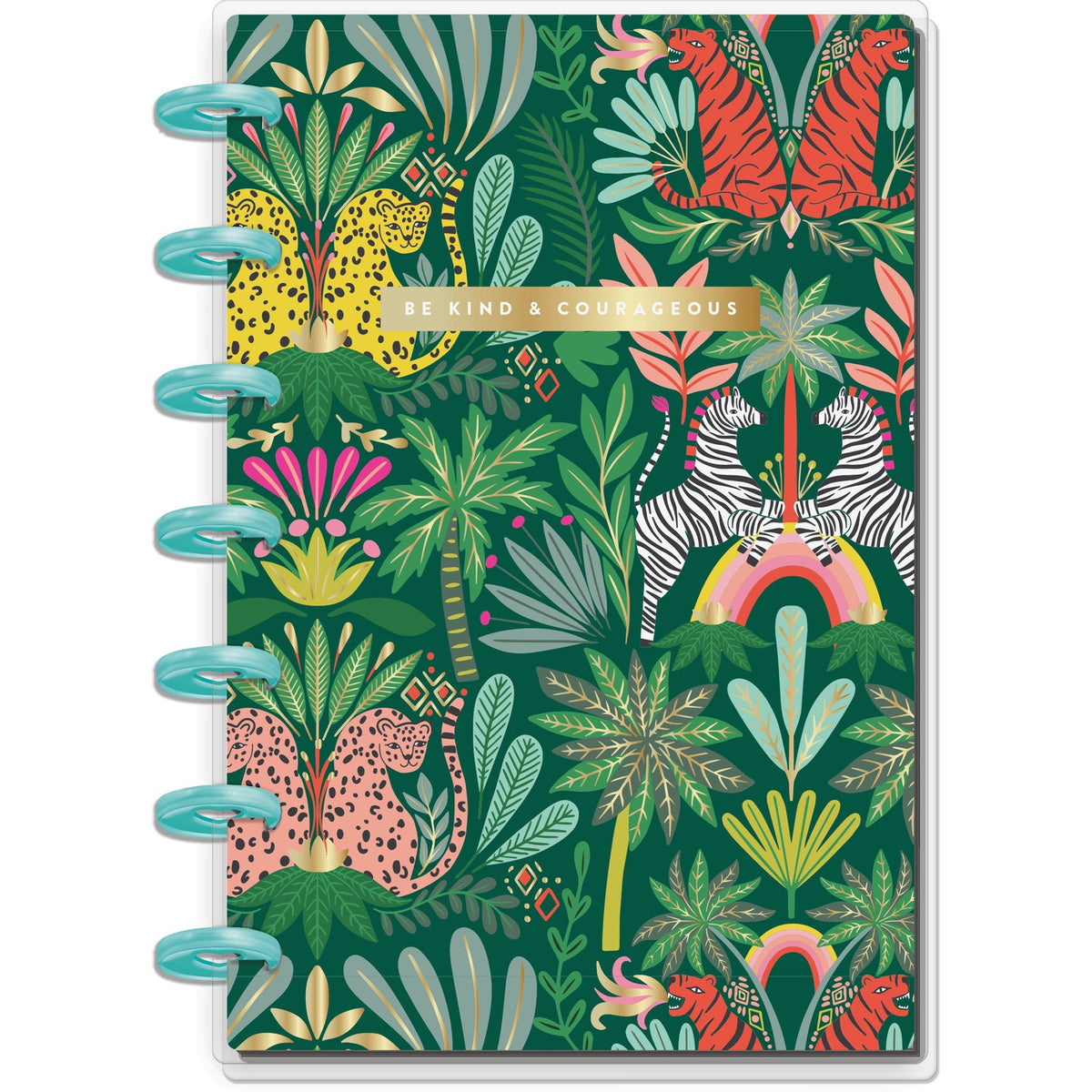 HAPPY NOTES MINI NOTEBOOK : JUNGLE VIBES (DOTTED LINED)
