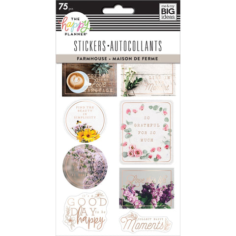 HAPPY PLANNER STICKERS : FARMHOUSE