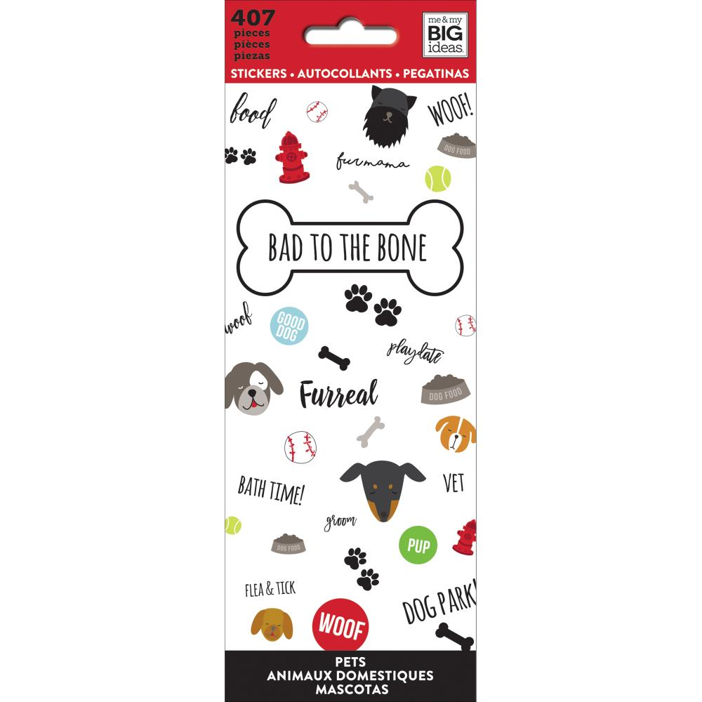 HAPPY PLANNER PETITE STICKER BOOK : BAD TO THE BONE