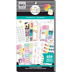 HAPPY PLANNER VALUE PACK STICKERS : CLASSIC : CELEBRATE
