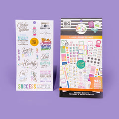 HAPPY PLANNER VALUE PACK STICKERS : CLASSIC : FITNESS WORKOUT