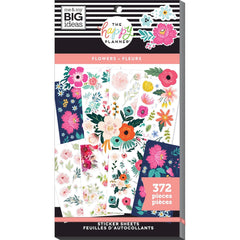 HAPPY PLANNER VALUE PACK STICKERS : CLASSIC : FLOWERS