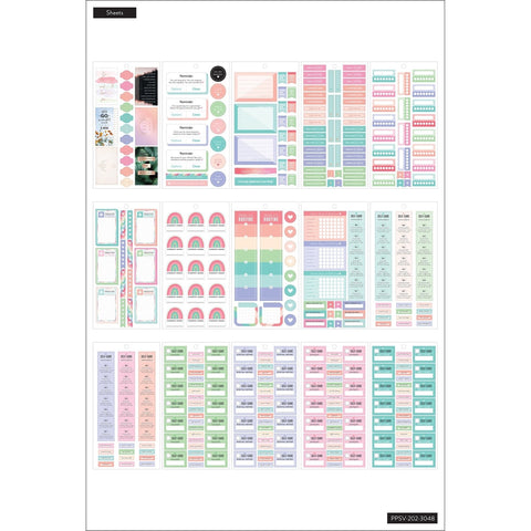 HAPPY PLANNER VALUE PACK STICKERS : CLASSIC : MOOD TRACKING / MENTAL HEALTH