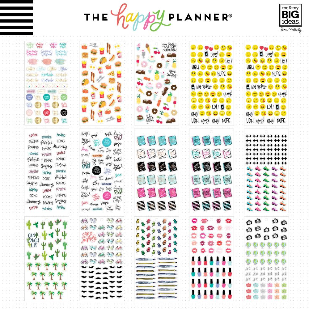HAPPY PLANNER VALUE PACK STICKERS : TINY ICONS