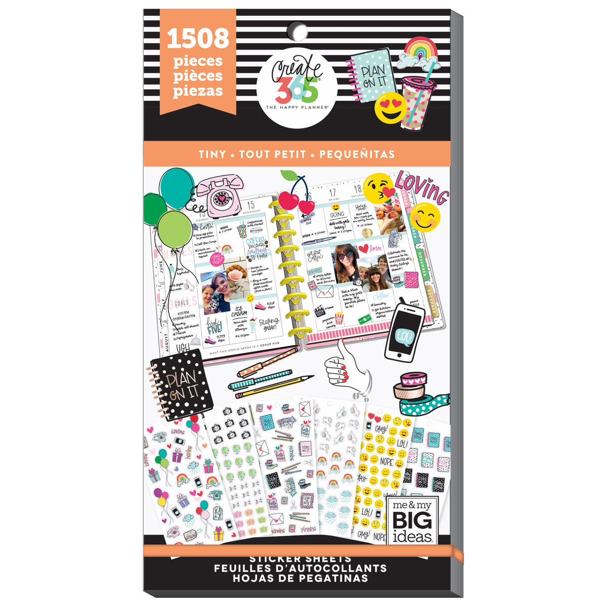 PPSV-61 Happy Planner Tiny Icons Value Pack Stickers