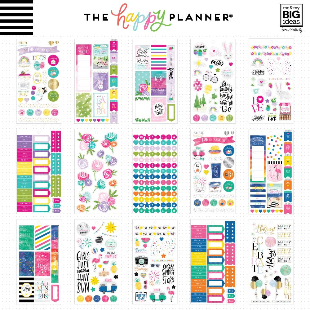 HAPPY PLANNER VALUE PACK STICKERS : CLASSIC : ALL IN A SEASON