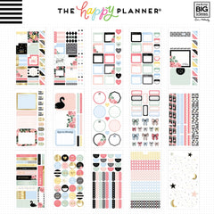 **PRE-ORDER** HAPPY PLANNER VALUE PACK STICKERS : CLASSIC : SIMPLY LOVELY