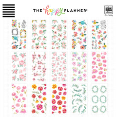 HAPPY PLANNER VALUE PACK STICKERS : CLASSIC : FUN FLORALS
