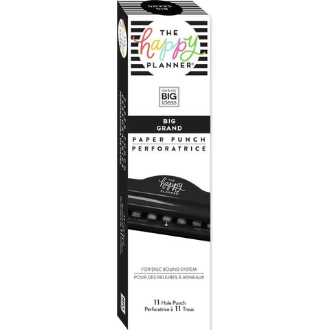 HAPPY PLANNER PUNCH : BIG SIZE (BLACK)