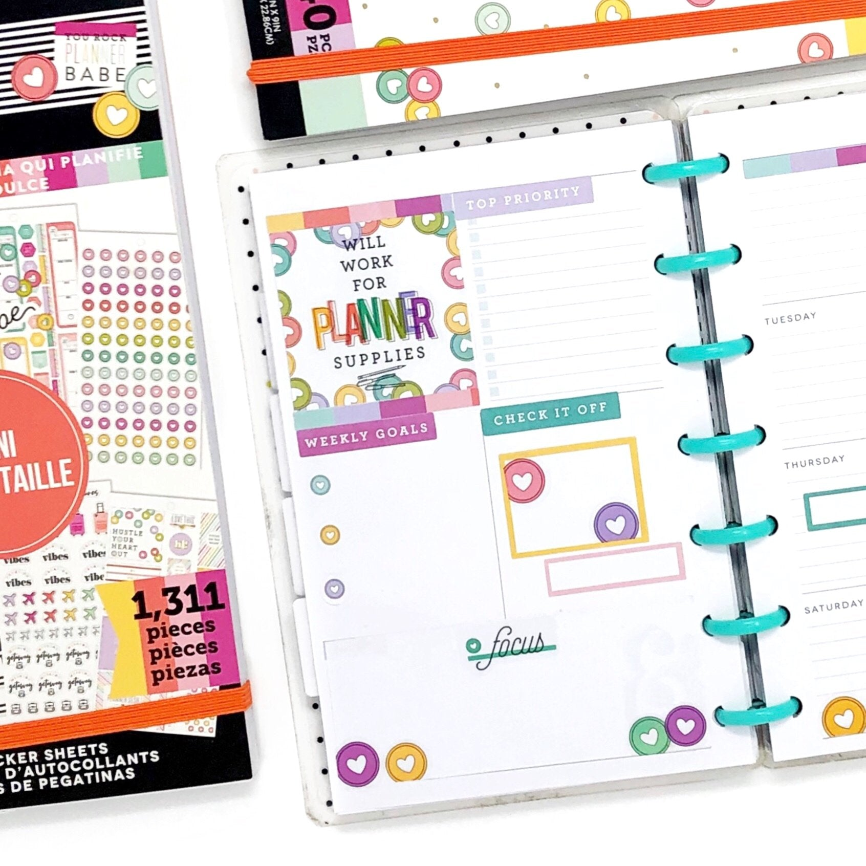 HAPPY PLANNER GIRL : PLANNER BABE MINI VALUE PACK STICKERS