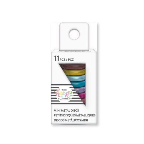 HAPPY PLANNER MINI METAL DISCS : RAINBOW