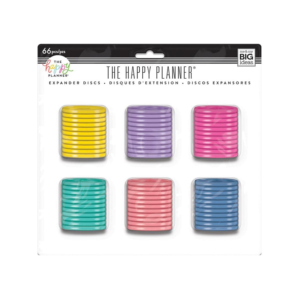 HAPPY PLANNER EXPANDER PLASTIC DISCS VALUE PACK