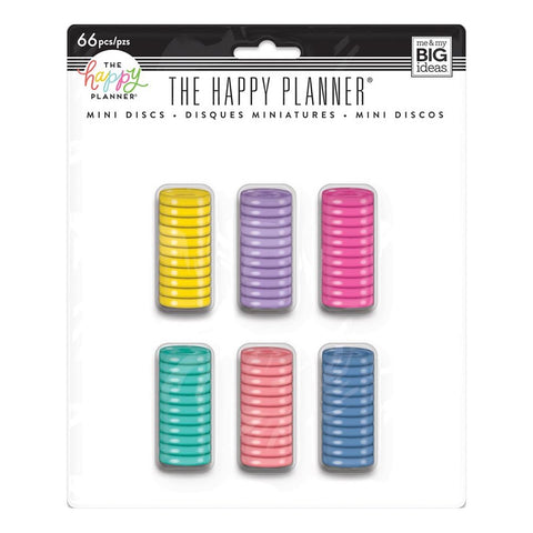 HAPPY PLANNER MINI PLASTIC DISCS VALUE PACK