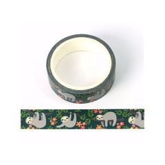 SLOTH WASHI TAPE