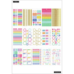 HAPPY PLANNER VALUE PACK STICKERS : SKINNY MINI : BRIGHTS