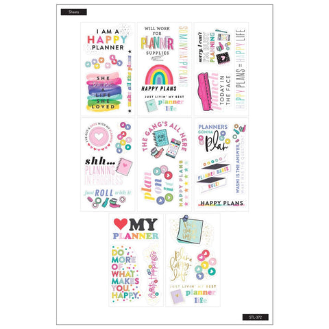 MAMBI STICKS STICKER PACK : HAPPY PLANNER