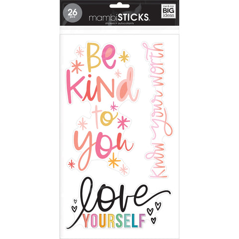MAMBI STICKS STICKER PACK : SELF LOVE