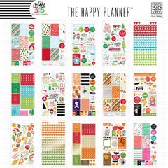 SEASONAL VALUE PACK - HAPPY PLANNER STICKERS - MAMBI - WASHIGANG - CUTE STICKERS AUSTRALIA