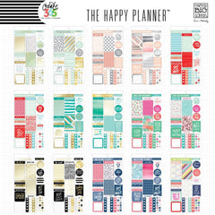 PLANNER STICKERS AUSTRALIA - HAPPY PLANNER VALUE PACK - WASHIGANG
