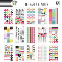PLANNER STICKERS - HAPPY PLANNER VALUE PACK - PLANNER BASICS STICKERS - ME & MY BIG IDEAS - WASHIGANG
