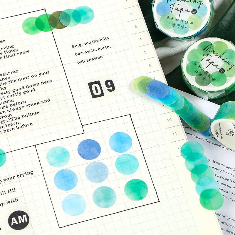 WASHI TAPE DOTS
