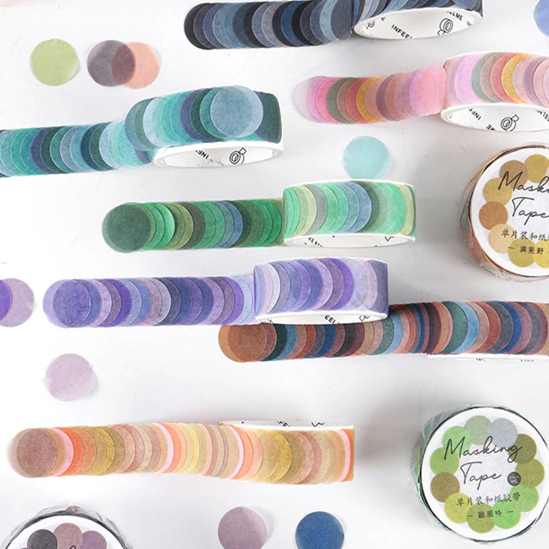 WASHI TAPE DOTS : NEW COLOURS!