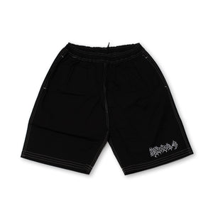 METAL RIP STOCK SHORTS BLACK