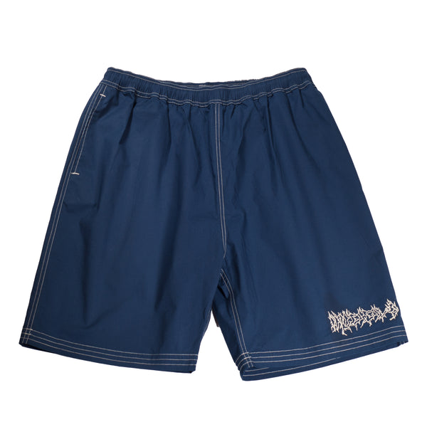 METAL RIP STOCK SHORTS BLUE