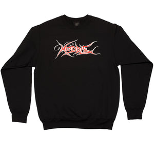 """BUTTERFLY"" CREW NECK BLACK"