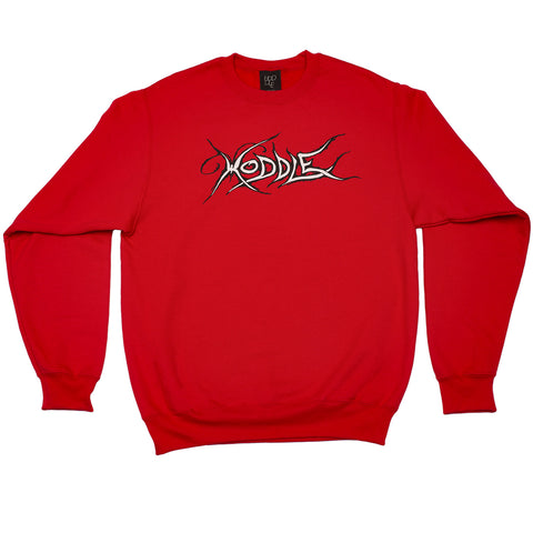 """BUTTERFLY"" CREW NECK RED"