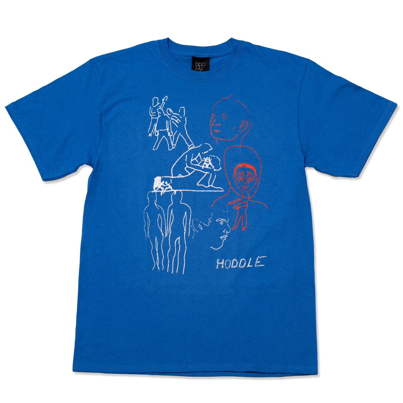 CONVERSATION TEE ROYAL BLUE