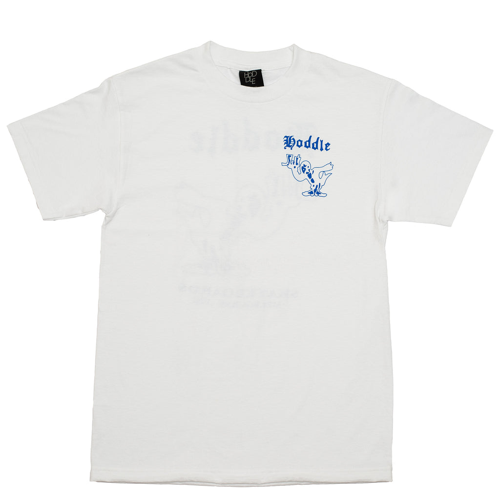 "HODDLE ""CROW"" TEE WHITE"