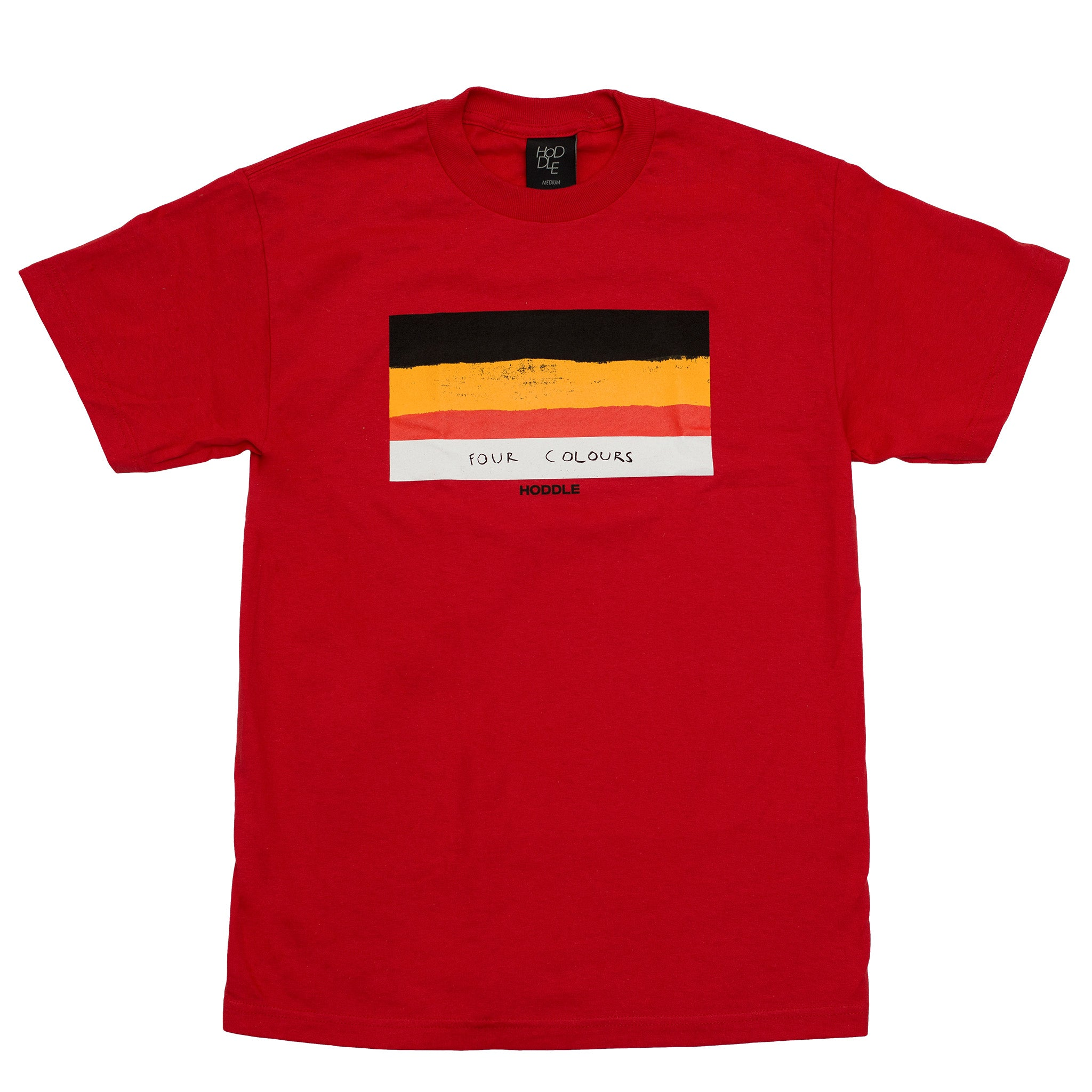 "HODDLE ""FLAG"" TEE RED"