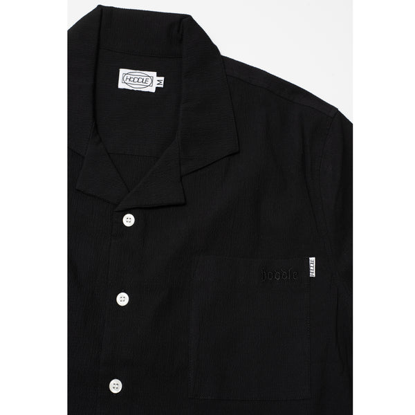 4 POCKET CAMP SHIRT BLACK