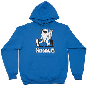 """RUN AWAY"" HOOD ROYAL BLUE"