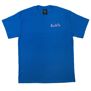 """SCHOOL HOLIDAYS"" TEE ROYAL BLUE"
