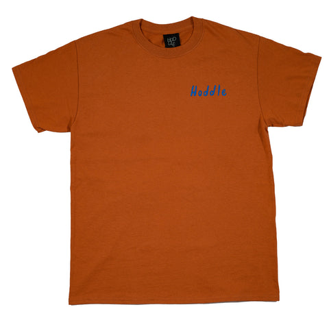 """SCHOOL HOLIDAYS"" TEE TEXAS ORANGE/ BLUE"