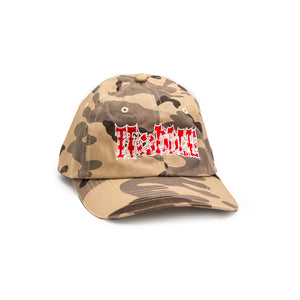 """LOGO FLASH"" HAT SAND CAMO"