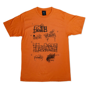"""LOGO FLASH"" TEE ORANGE"