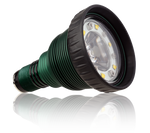 Green Force Heptastar 3000 DB  lampkop voor duiklamp