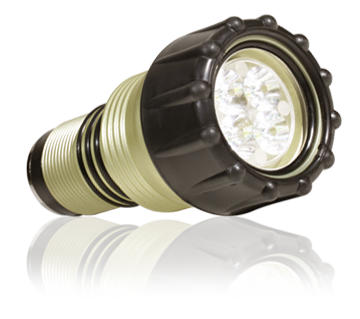 Green Force Quadristar 1150 lampkop voor duiklamp
