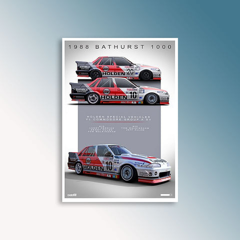 1988 Bathurst - Holden Special Vehicles, Peter Hughes Print