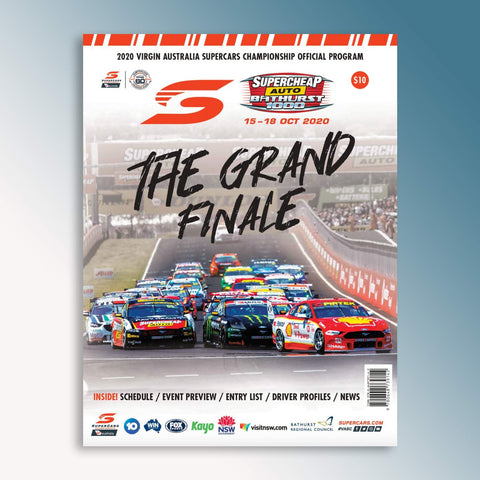 2020 Supercheap Auto Bathurst 1000 Official Program