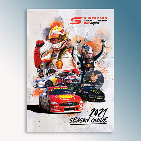 Official 2021 Repco Supercars Championship Season Guide (PRE-ORDER)