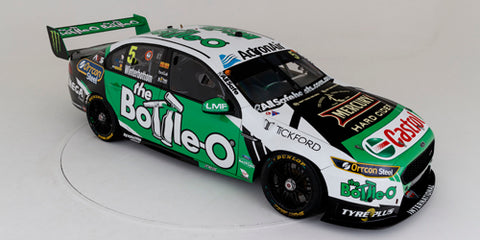 PRE-ORDER APEX 1:18 2018 The Bottle-O Racing FGX Falcon - #5 Mark Winterbottom