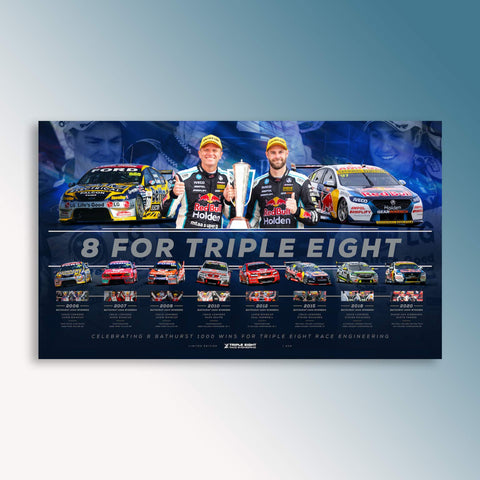 8 For Triple Eight Official Limited Edition Collector's Print